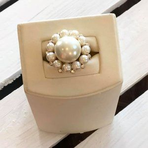 J. Crew Pearl Ring - Size 6.5